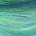 Diptich, Mare, acrylic, sand, 2004